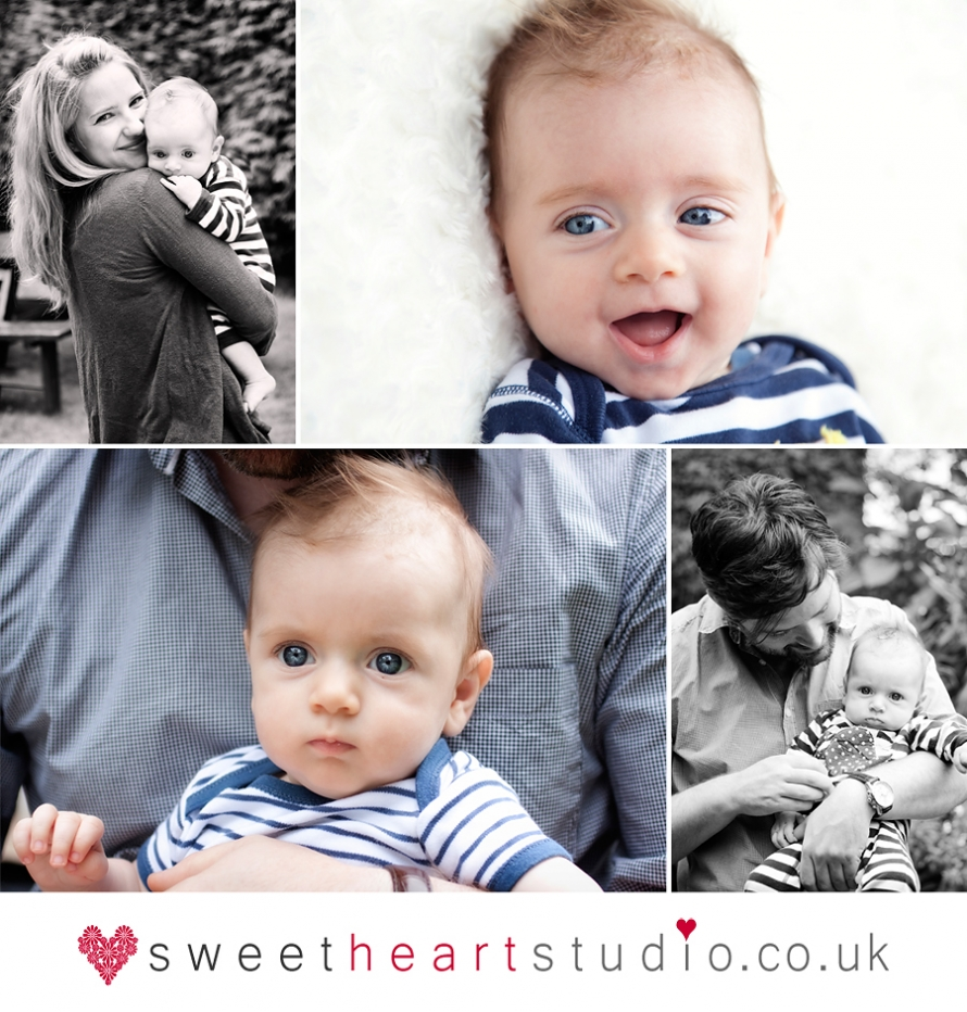 baby portrait shoot in north kingston