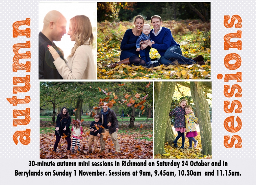 autumn photo sessions richmond and berrylands