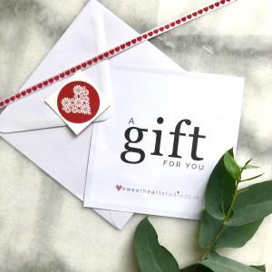 gift voucher for photo shoot